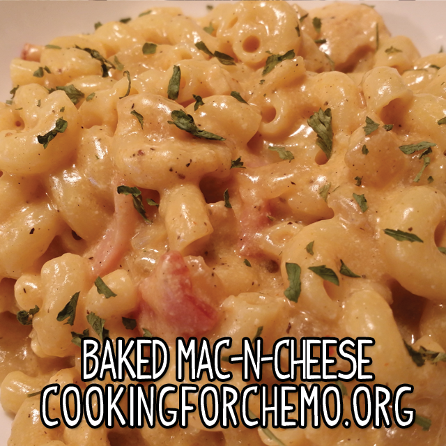 Baked mac n cheese recipe for cancer and chemotherapy forumfinder Image collections