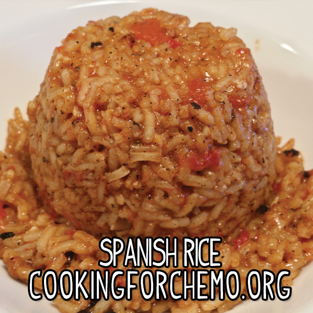 spanish rice tomatoes mexican side dish easy delicious healthy cancer cooking recipes