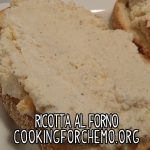 ricotta al forno honey sugar bread cooking for chemo cancer cookbook easy delicious healthy cooking recipes
