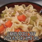 chicken noodle soup american broth sick easy delicious healthy cancer cooking recipes