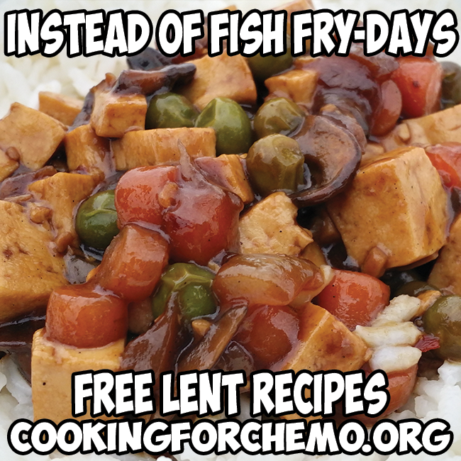 instead of fish fry-days lent recipes