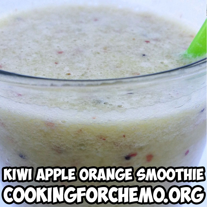 kiwi apple orange smoothie picture