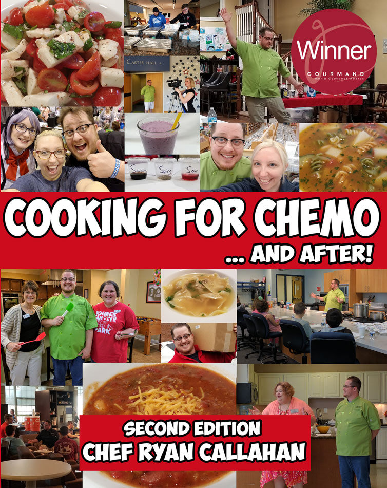 cooking for chemo ...and after cover