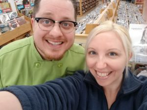 Cooking for Chemo Podcast hosts Chef Ryan and Jessie Callahan
