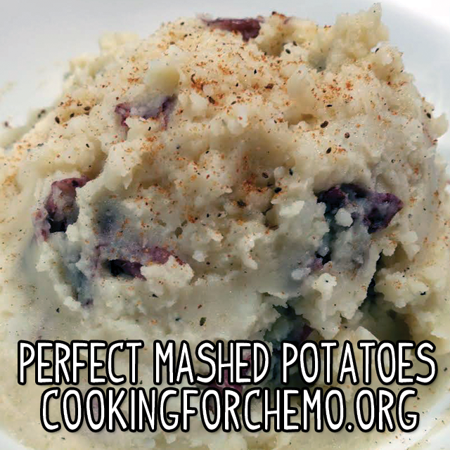 perfect mashed potatoes easy delicious healthy cancer cooking recipes